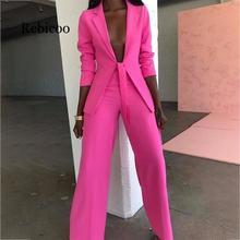 Bow lady suit lady suit office suit casual suit jacket and pants suit formal two-piece suit suit wessi suit
