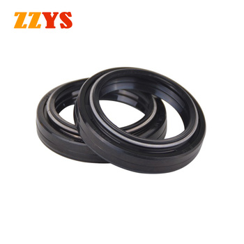 37x49x8 Motorcycle Double Lip Shock Absorber Fork Oil Seal 37*49*8 37 49 8 For Suzuki GW250 Inazuma VL250 Intruder VL GW 250 image