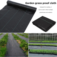 Greenhouse Weed Ecological Control Mat Orchard Gardening Anti Grass Cloth Landscaping Plastic Mulch Weed Barrier Plant Cover