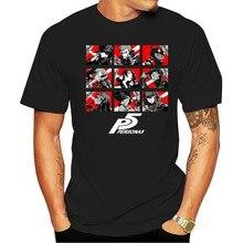 100% Cotton O-neck Custom Printed Tshirt Men T Shirt Persona 5 - Phantom Thieves - Persona 5 Women T-Shirt