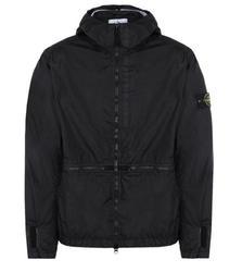 Мужская куртка на молнии STONE IS LAND, теплая уличная ветровка с карманами, капюшоном и длинным рукавом, размера плюс, CP