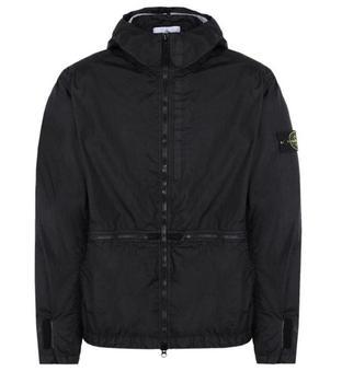 STONE IS LAND MEN CP Fashion Men's Plus Size Zip With Hat Zipper Pocket  Jacket Long Sleeve Warm Streetwear Windbreaker