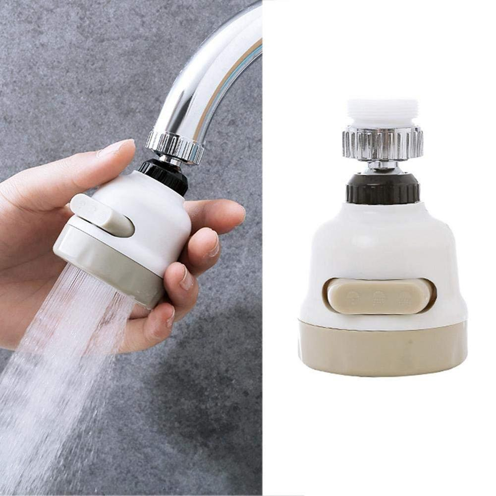 Kitchen Water Saving Rotatable Faucet Nozzle Spout Sprayer Tap Filter Accessory Water Saving Tap Aerator Diffuser Bathroom Tool
