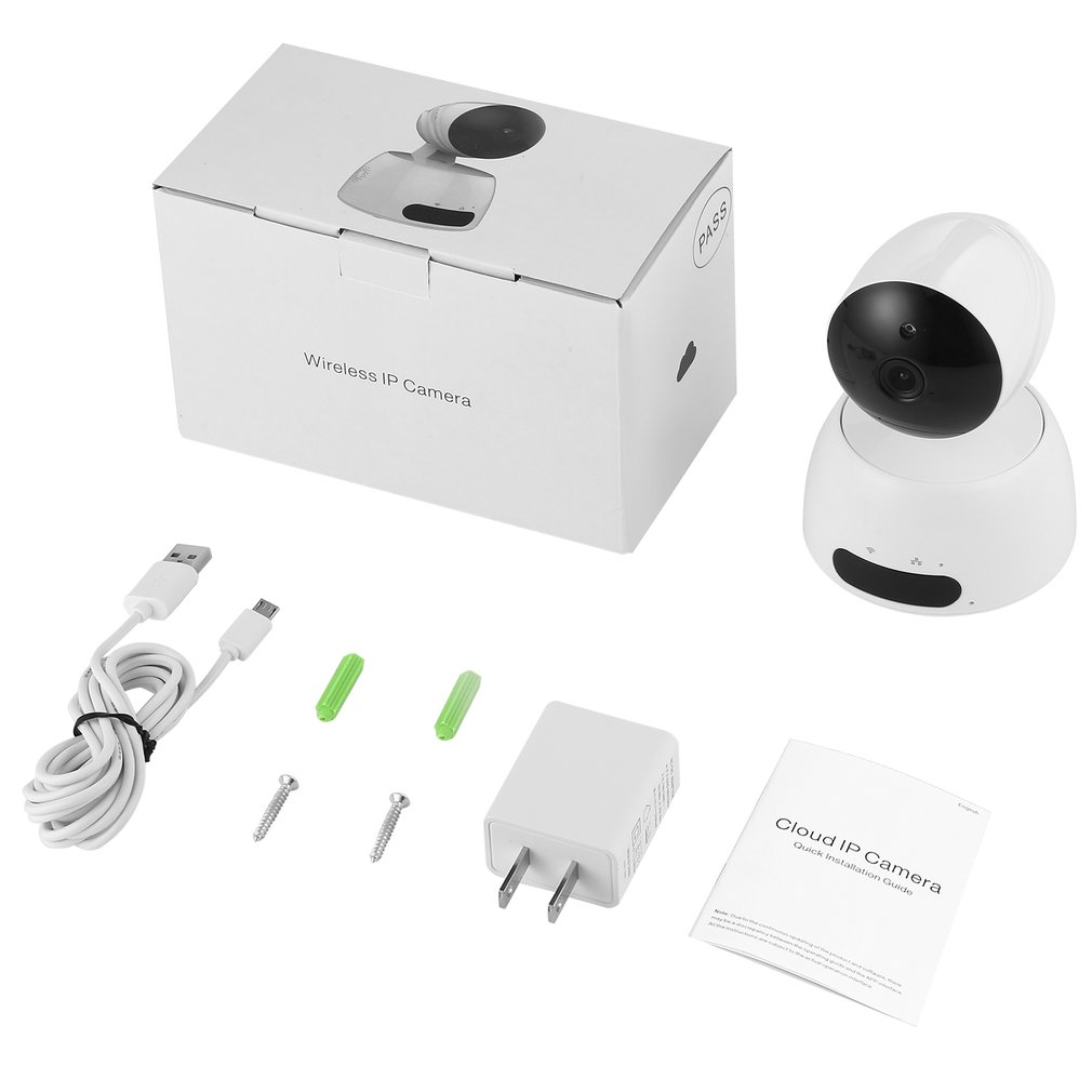 829 Wireless 2.4G WIFI Security Camera Infrared Night Vision IR-CUT Switch Motion Detection H.264 Video Compression