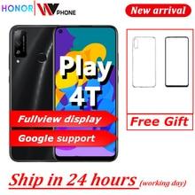 HONOR Play 4T Smart Phone 6G 128G Kirin 710A 6.39 inch Fullview Display 48MP Dua