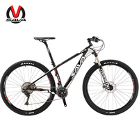 SAVA Vtt Bike 29 zoll Carbon Faser Mountainbike 29 mtb Männer Carbon Mountainbike mit SHIMANO DEORE XT und MANITOU luft Gabel-in Fahrrad aus Sport und Unterhaltung bei