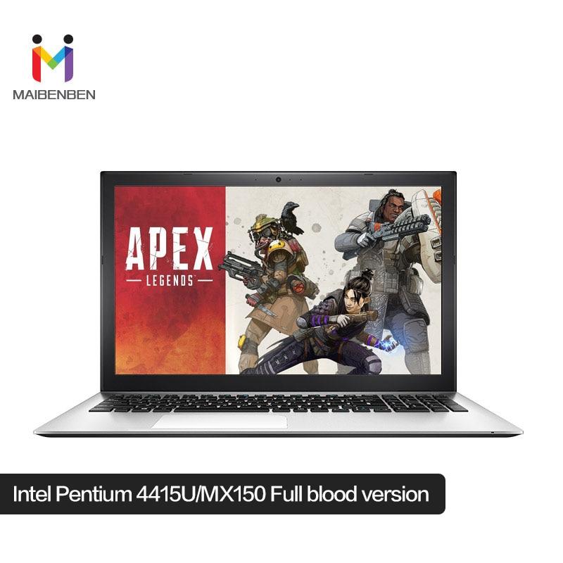 "MaiBenBen XiaoMai 5 Pro Laptop For Busines Intel 4415U+MX150 Graphics Card/8G RAM/256G SSD+1TB HDD/15.6"" 72%NTSC ADS Notebook"
