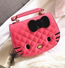 Red Women Cartoon Bag Cute Kitten Bag/Shoulder Women/Cartoon Crossbody Fashion Purses Small