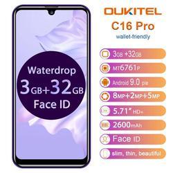 OUKITEL C16 PRO SmartPhone 3GB RAM 32GB ROM 5.71