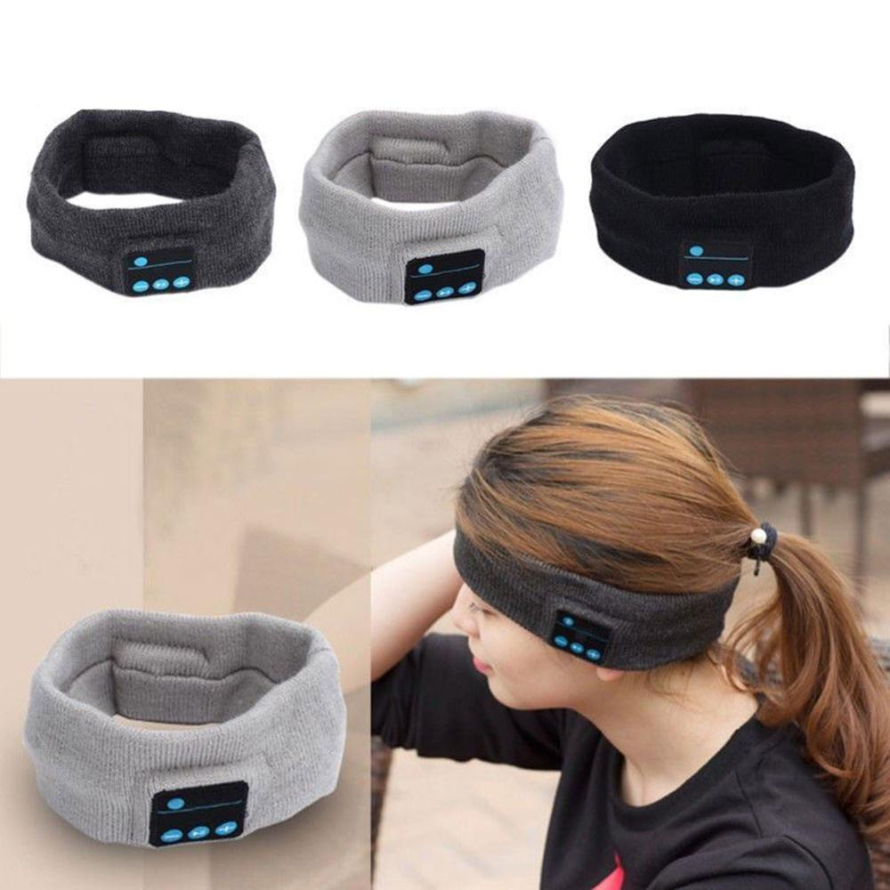 Wireless <font><b>Bluetooth</b></font> Stereo Kopfhörer Schlaf Headset Sport Stirnband Mic image
