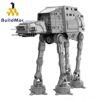 цена на Terrain Armored Walker AT-AT Star Wars Model Star Toys Wars With lepining ATAT Set Toys Kids Gifts Building Blocks toys