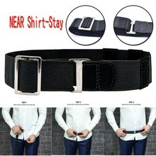 Non-slip Wrinkle-Proof Shirt Holder Adjustable Near Shirt Stay Best Tuck It Belt For Integral Abdominal Retraction Strap ZA(China)