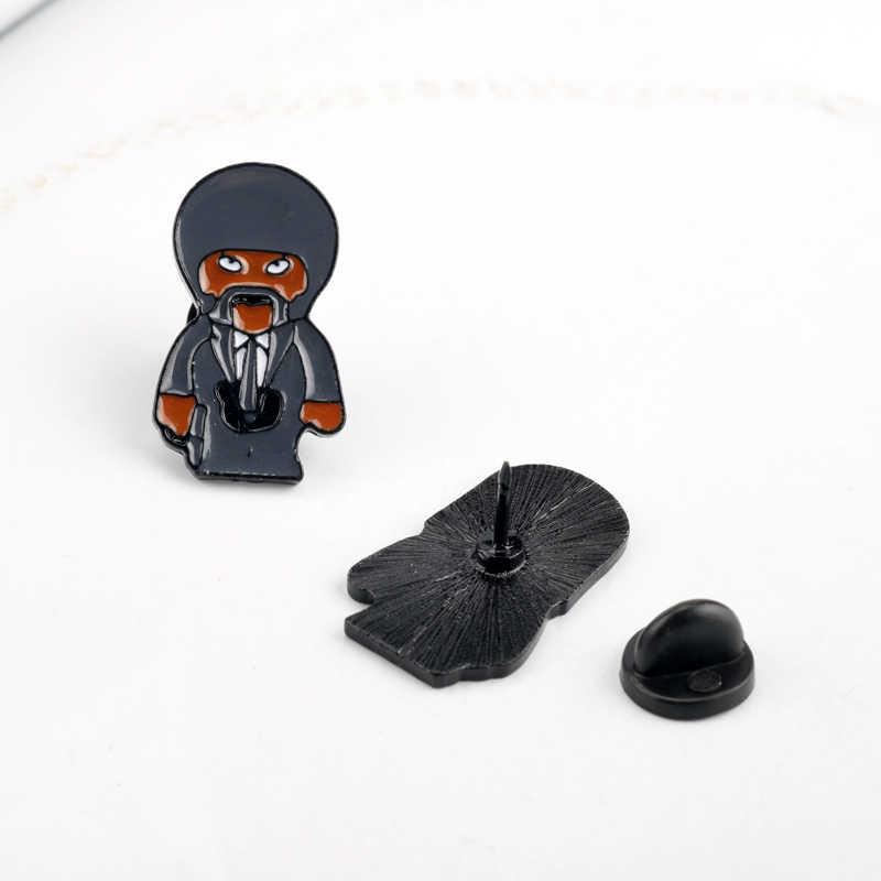 Đông Thắng Trang Sức Bộ Phim Bột Giấy Viễn Tưởng Pin Thổ Cẩm Cứng Men Pin Phù Hiệu Pinback Thổ Cẩm Dành Cho Nam Nữ