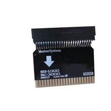 SMS2SG1000 Per Sega Master System (Versione USA) per per Sega MARK III (Versione Giapponese) adattatore per SMS Adattatore