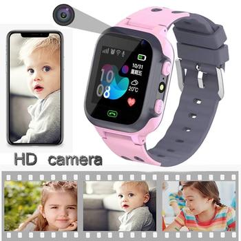 kids watches call Kids Smart Watch for children SOS Waterproof Smartwatch Clock SIM Card Location Tracker child watch boy girls 3