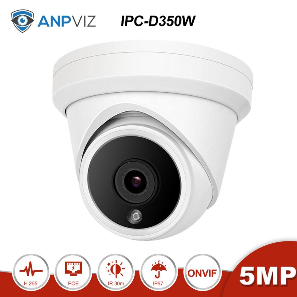 Anpviz (Hikvision Kompatibel) IPC-D350 5MP POE IP Kamera Home/Outdoor Sicherheit CCTV Video Überwachung DHCP ONVIF P2P