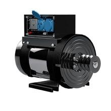 8 кВт 220 В 50 Гц большой мощности небольшой генератор переменного тока, однофазный 220 В дизельный генератор с регулятором напряжения, J19254