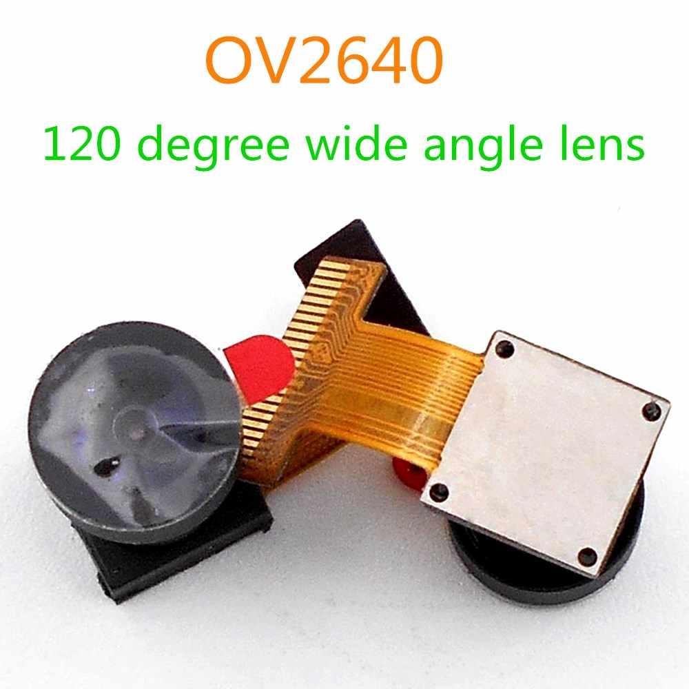 Para módulo de cámara ESP32 OV2640 24pin 200W soporte de píxeles 66/120/160 grados 850NM doble paso opcional 2,1 CM longitud 0,5 MM