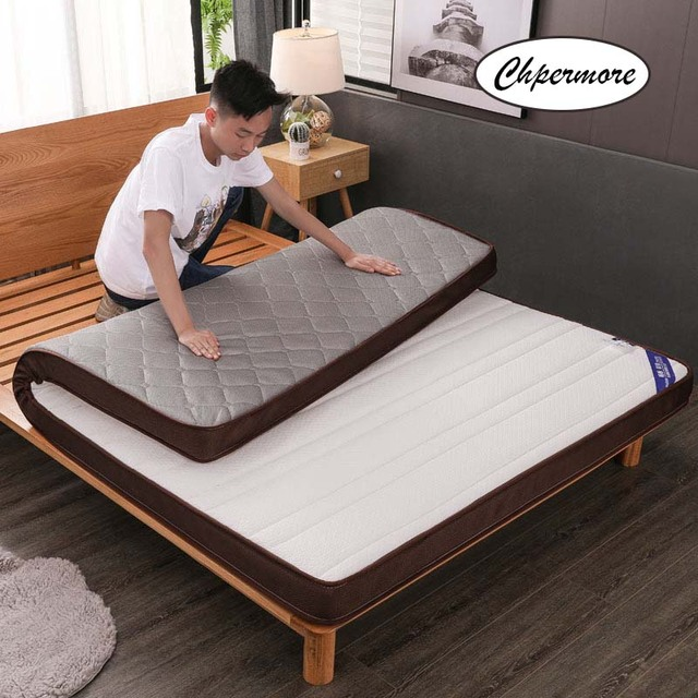 Chpermore Three dimensional Mattress 1.8m thickening Foldable student dormitory Tatami double Mattresses King Queen Size