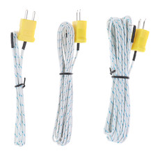 1 pces teste de temperatura de fio de alta qualidade k-tipo TP-01 sonda sensor thermo para TM-902C TES-1310