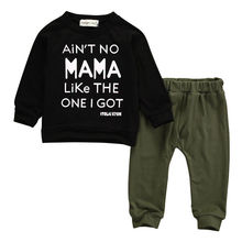 0-3 Years Autumn Kids Clothes Boys Clothing Set Baby Girls Clothes Set Kids Long Sleeve T-shirt+Pants Outfits Set Tracksuit цена 2017