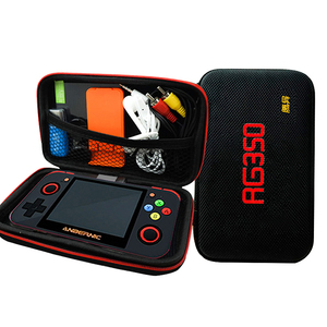 Image 5 - Newest RG 350 retro handheld Video game console portatil mini game console retro 64bit opendingux 3.5inch IPS screen 2500+ games