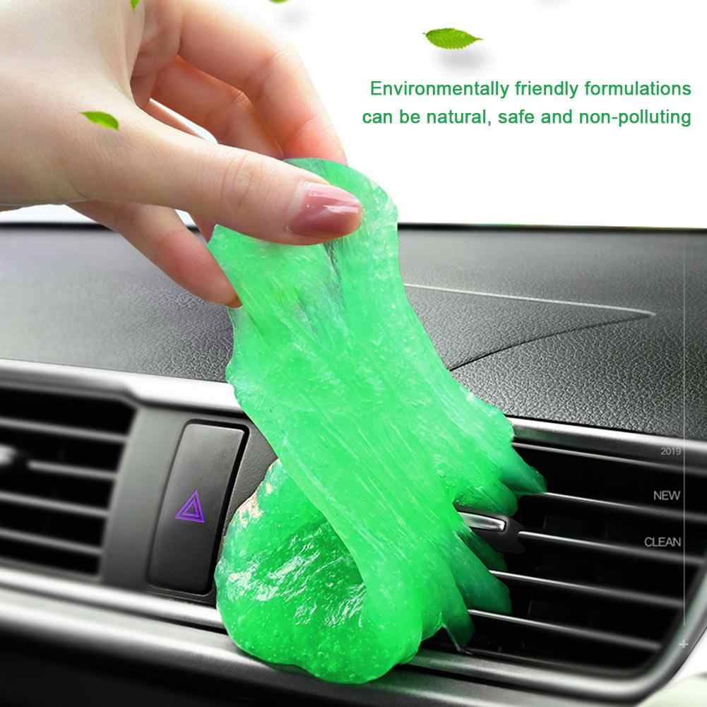 אוניברסלי תכליתי רך רכב ניקוי דבק מנקה אבק ג 'ל כדי להסיר אבק מקלדת ניקוי מצלמה לשקע אוויר מנקה