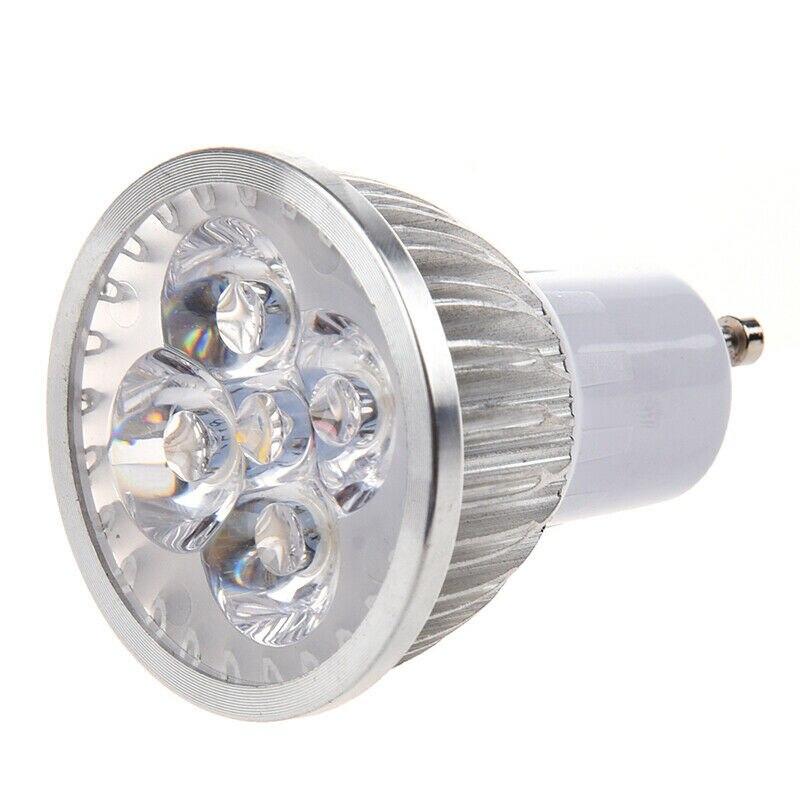 10 Uds. Iluminación GU 10 LED Spotlight Dimmable GU10 LED lámpara 3W 4W 5W 110V 220V rojo verde azul lámpara LED foco vela Novedosas Bombillas E27, bombilla LED de 220 V, 4,5 W, 8 W, 220 V, lámpara LED E27 de alta calidad