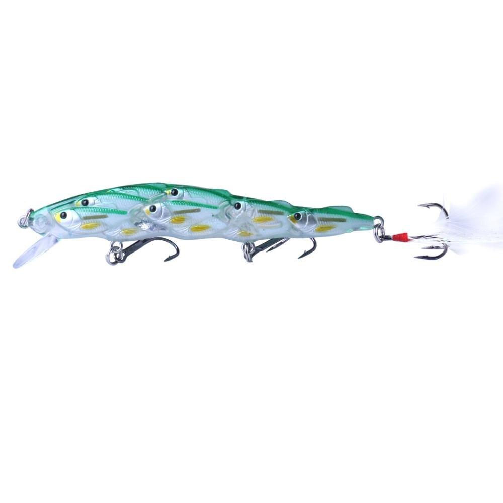 Isca dura biônica de peixe para inverno, isca artificial de 11.5cm/15g, 1 peça wobbler isca giratória de pesca, isca engrenagem de pesca
