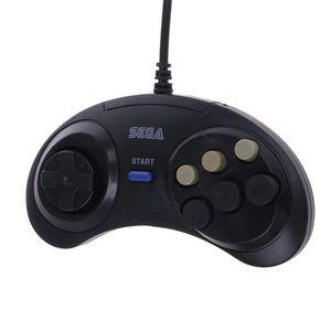 Image 1 - Almohadilla para mando con cable de 6 botones para Mega Drive Megadrive Sega MD Genesis