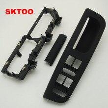 Base-Caps Interior-Door-Handle Passat B5 Black-Color for VW Lifter Switch-Bracket 3u1/867/179/..