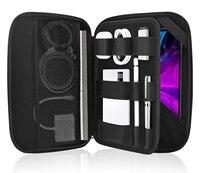 タブレットスリーブバッグ、Samsung Galaxy Tab s6 lite 2020、タブs7 11インチ、ipad pro 11 2021用のハードエヴァーリングビジネスポートフォリオケース