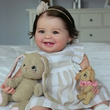 Набор для самостоятельной сборки Juliana RBG, 20 дюймов, комплект кукол новорожденных, реалистичные виниловые неокрашенные необработанные игруш...