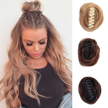 Hair-S Ponytail Synthetic-Hair Curly Wrapped Braid Elastic-Untidy Woman DIANQI Around