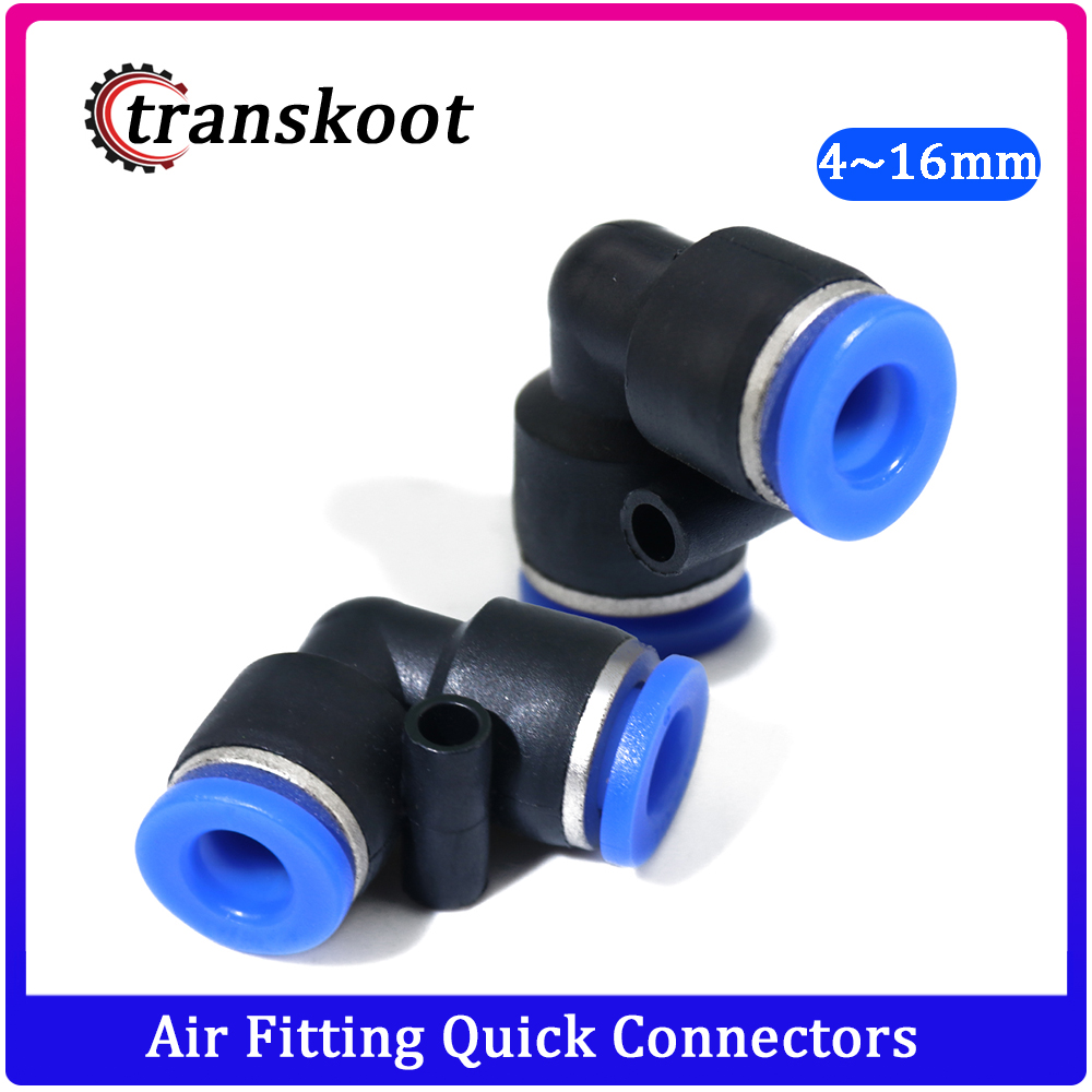 Plastic Pheumatic Fitting For Pipe Tube OD 4mm/6mm/8mm/10mm/12mm/14mm/16mm Air Fitting Quick Fittings Connectors Fast Coupling