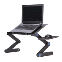 Laptop Table Stand for Sofa Bed Portable Foldable Laptop Desk Aluminum Alloy Height Adjustable Laptop Stand Tray Home Office