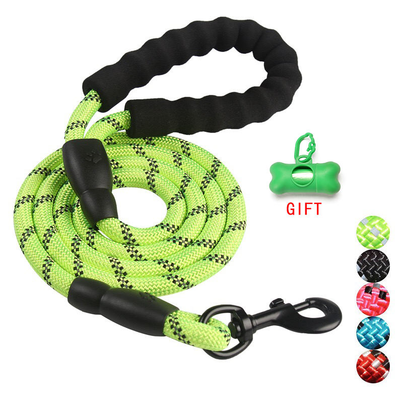 Durable Nylon Dog harness Color 1.5M Pet Dog Leash Walking Training Leash Cats Dogs Leashes Strap Dog Belt Rope
