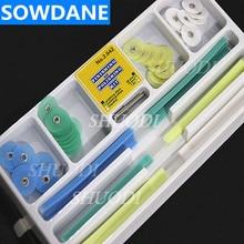 Disques de finition et de polissage dentaires, disques de polissage à réduction brute, jeu de bandes de mandrin, matériau de remplissage en résine, porte aiguille