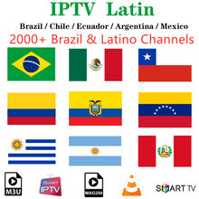 Latin Iptv Brazilië Subscriptio Iptv Cinema Chili Mexico Argentinië Colombia Peru Voor Android Smart Tv Box Ssiptv H96 Max(China)