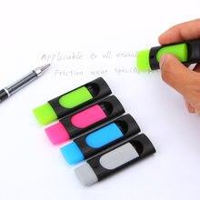 4 pçs/lote borracha de tinta de fricção borracha borracha borracha borracha para caneta apagável 50mm * 20mm artigos de papelaria material escolar de escritório