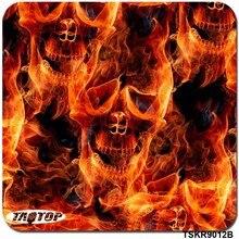 iTAATOP Skull Orange Pattern TSKR9012 0.5M * 2/10/20M Water Transfer Printing Film