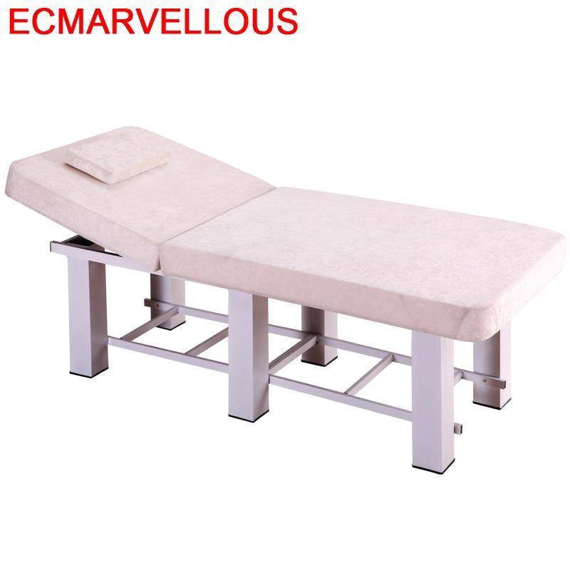 Massagetafel Letto Pieghevole Masaj Koltugu Lettino Massaggio Cadeira De Massagem Pedicure Salon Folding Table Chair Massage Bed