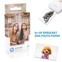 Papel da foto de topcolor hp zink para a impressora da foto da roda dentada de hp 2 em 1 folhas da etiqueta da foto bolso de papel da impressão a cores mini fotos null     -