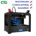 CTC 3d принтер Bizer I два Nozzel многоцветная печать 3d принтер с 1,75 мм PLA нити США наличии