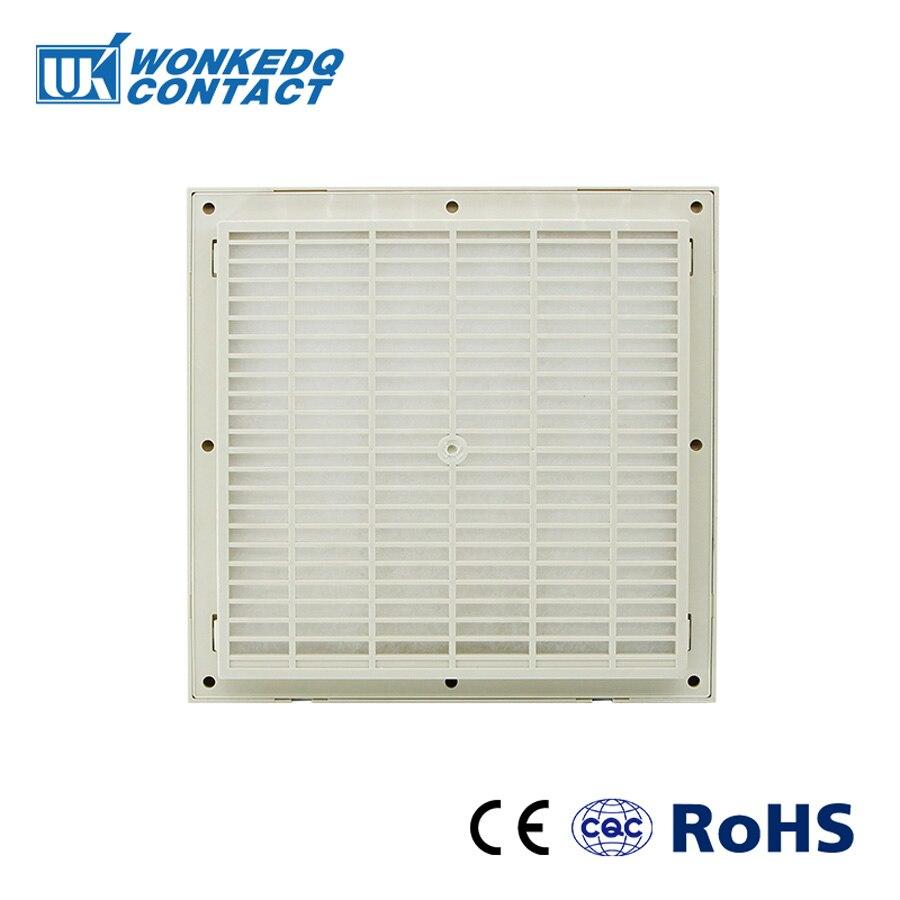 Cabinet  Ventilation Filter Set Shutters Cover  Fan Grille Louvers Blower Exhaust Fan Filter FK-3325-300 Filter Without Fan