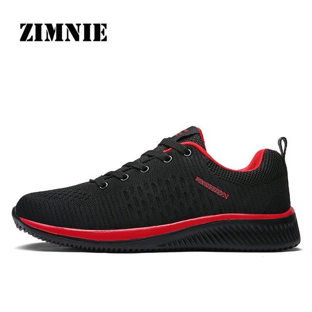 ZIMNIE Men Running Shoes Sneakers For Men Comfortable Sport Shoes Men Trend Lightweight Walking Shoes Breathable Zapatillas