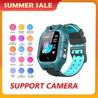 Reloj inteligente Q19 para niños, dispositivo con llamada antipérdida SOS, tarjeta Sim, Gps, cámara, impermeable, regalo para niños