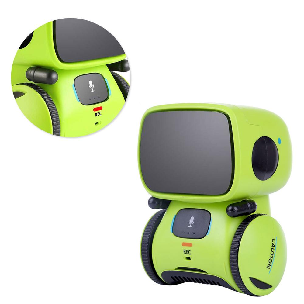 Intelligent Robots for Kids Dance Music Recording Dialogue Touch-Sensitive Control Interactive Toy Smart Robotic for Kids
