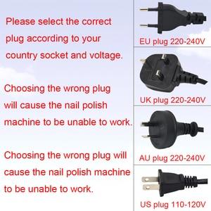 Image 5 - 45W 35000RPM Electric Manicure Set Professional Drill Accessory Nail File Bit Manicure Machine Electric Nail File Ceramic Nail