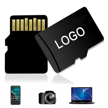 Mini karta pamięci 512GB 256GB nowa karta Micro SD 128gb 64gb TF 32gb 16gb 8GB 4GB wodoodporna karta microsd własne Logo tanie i dobre opinie OUIO Wysoka prędkość odczytu i zapisu Telefon komórkowy TABLET NOTES Tachografu Camera Monitorowania Głośniki Digital Devices
